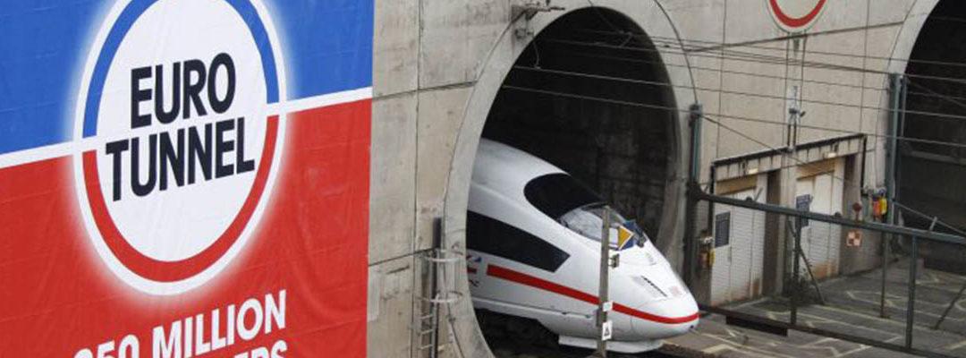 Busy do Anglii Eurotunel